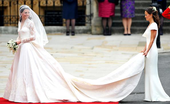 Самые шикарные свадебные платья мира