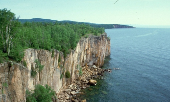 самое большое озеро в мире - Верхнее озеро