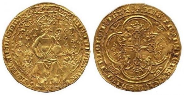 Эдуард III или Золотой леопард