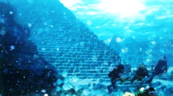 бермудский треугольник - пирамиды