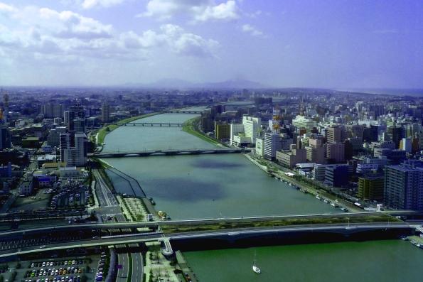 Cамая длинная река в Японии