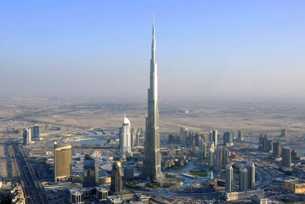 Самая высокая башня в Эмиратах
