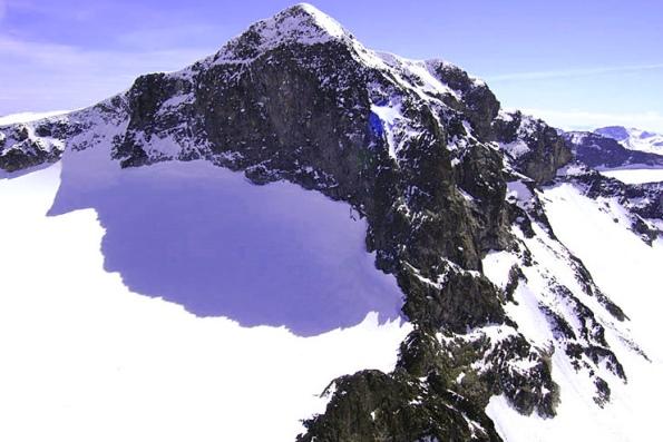 Самая высокая гора в Норвегии