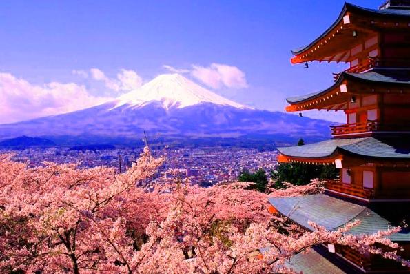 Самая высокая точка в Японии