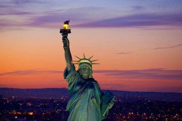 Кто подарил статую свободы Америке