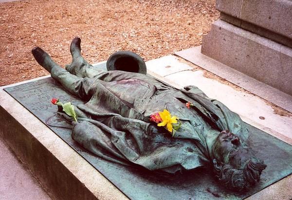 Pere Lachaise Cemetery in Paris, France tourism destinations