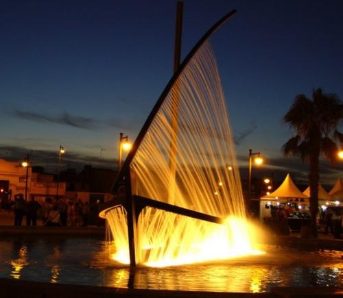фонтан лодка1