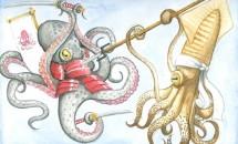 чем кальмар отличается от осьминога