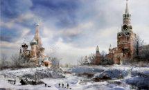 самая холодная русская зима